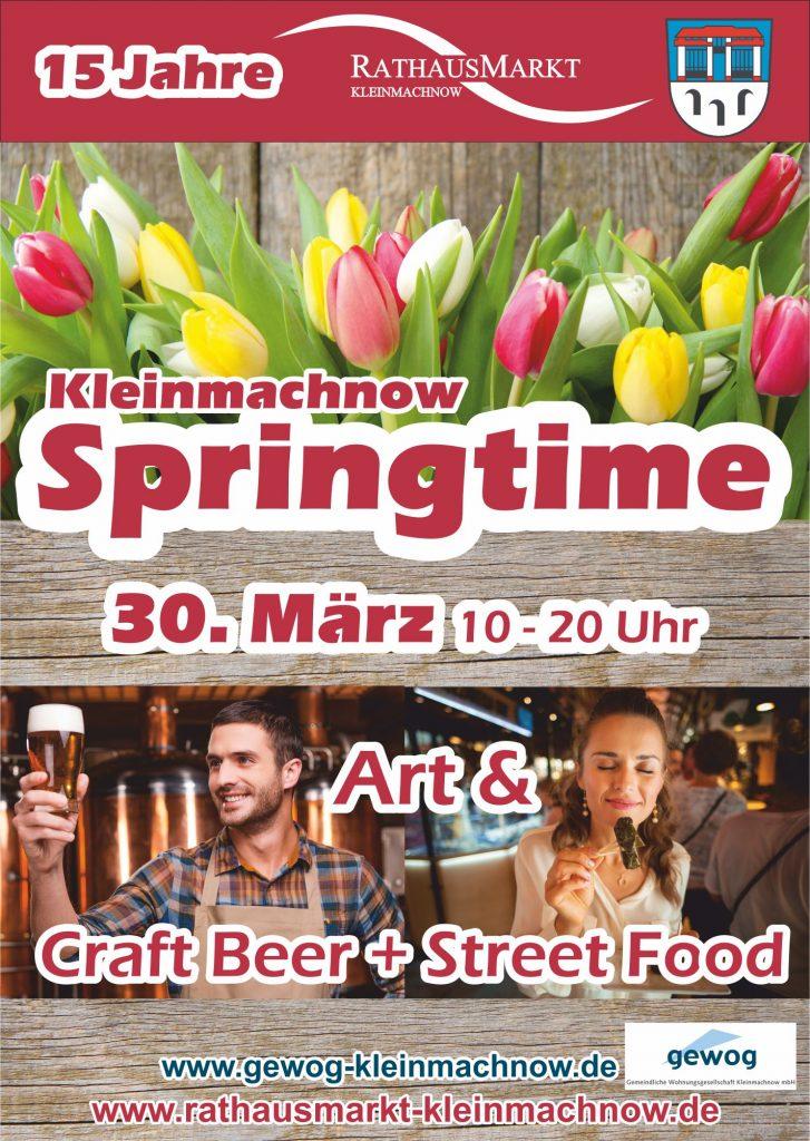 Plakat Kleinmachnow Springtime 2019